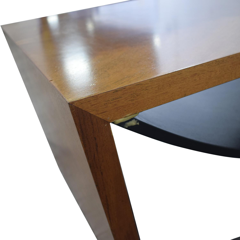 Italian Wood Coffee Table Tables