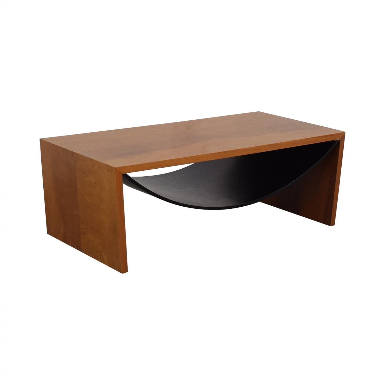 Italian Wood Coffee Table price