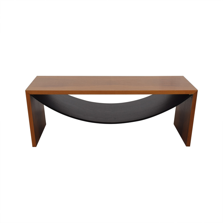 Italian Wood Coffee Table sale