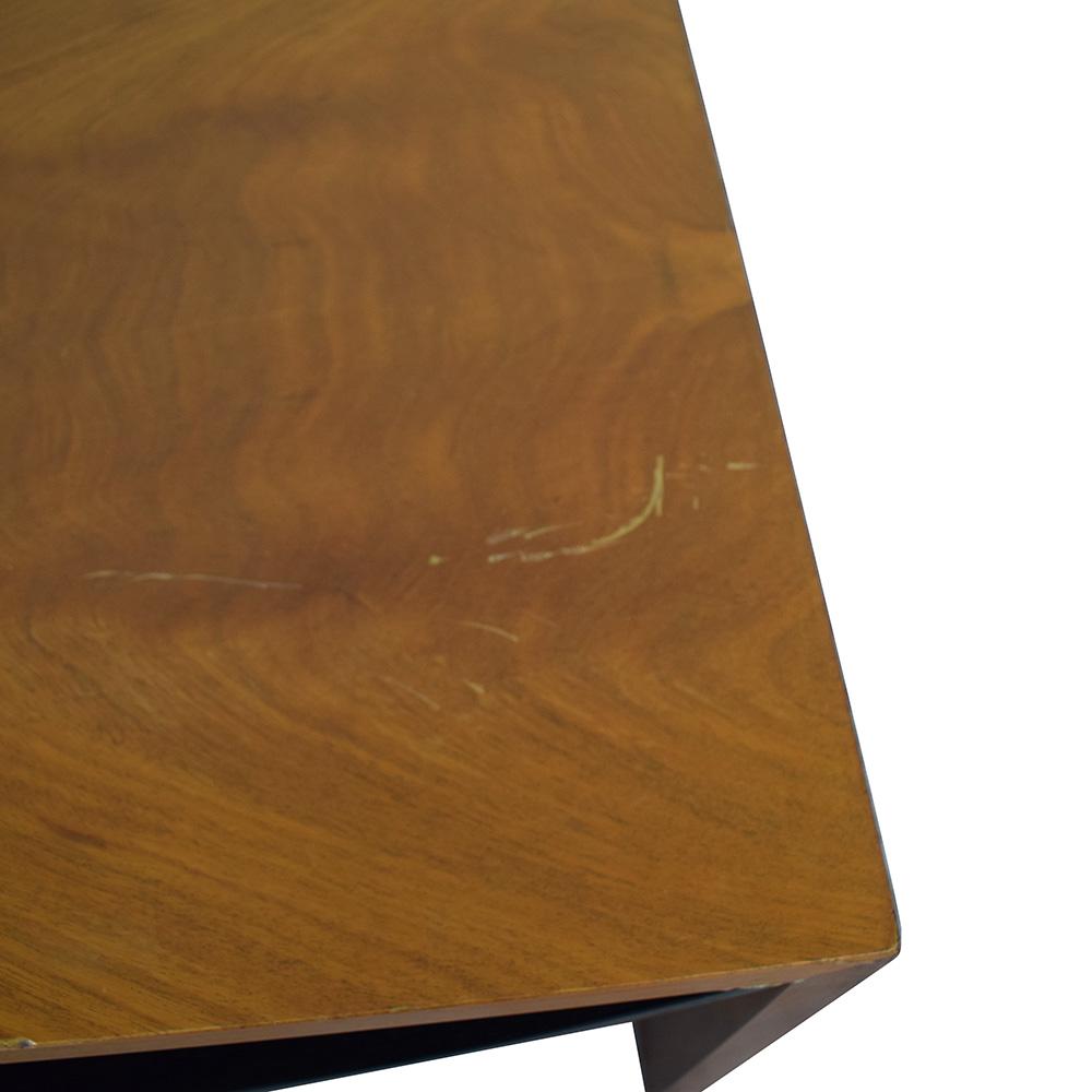 Italian Wood Coffee Table used
