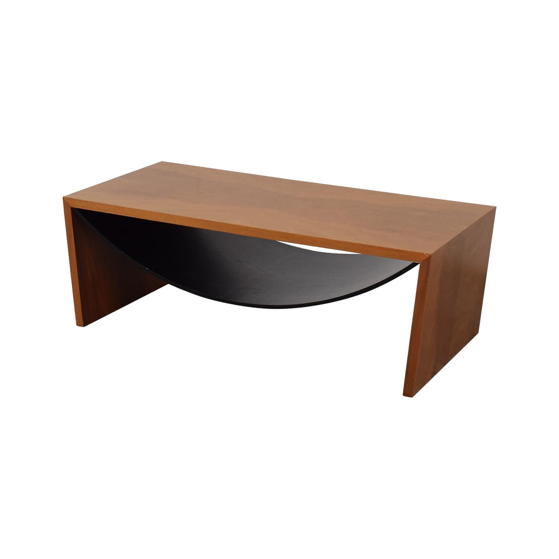 Italian Wood Coffee Table discount