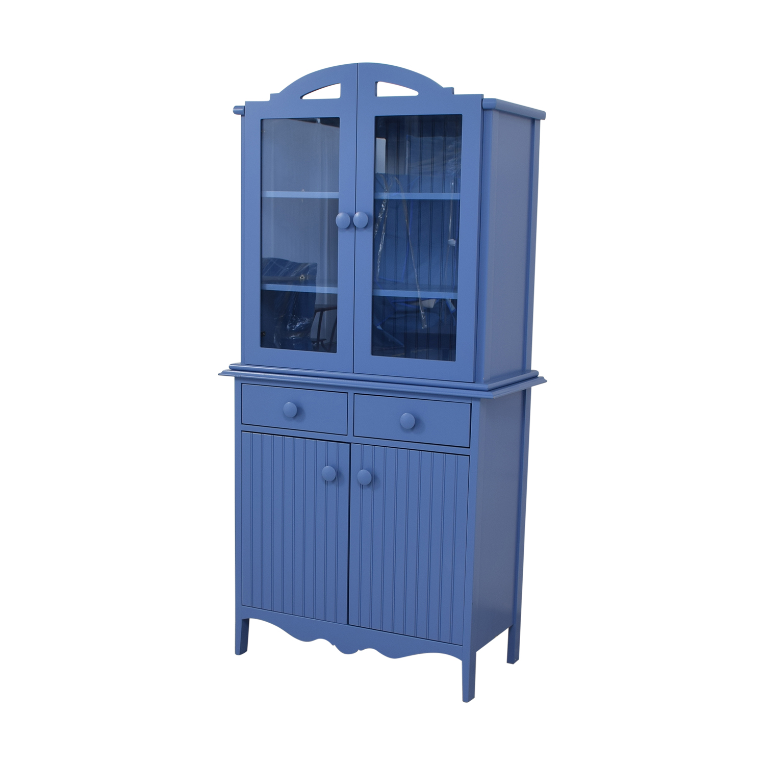 Maine Cottage Maine Cottage Blue Two-Drawer Hutch on sale
