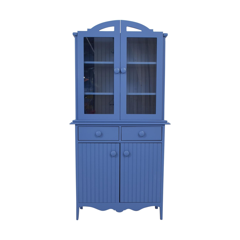 Maine Cottage Maine Cottage Blue Two-Drawer Hutch Storage