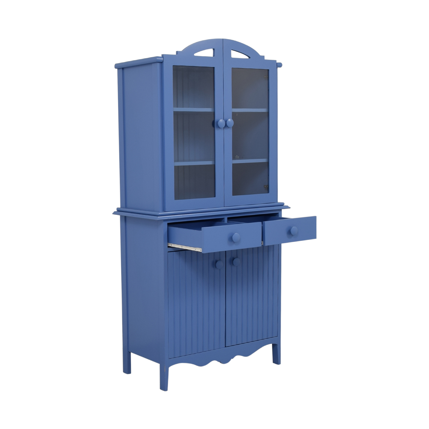 Maine Cottage Maine Cottage Blue Two-Drawer Hutch Wardrobes & Armoires