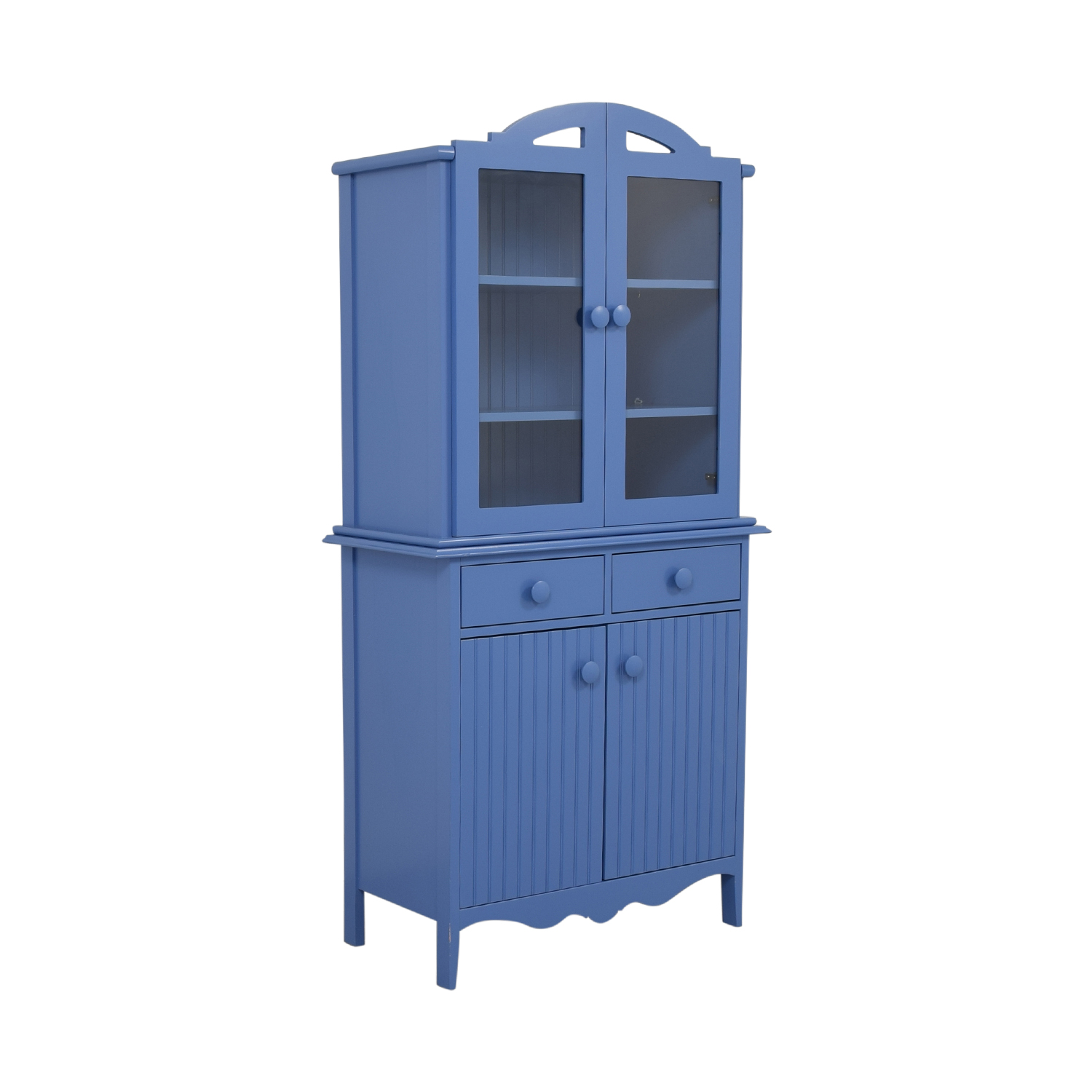 buy Maine Cottage Maine Cottage Blue Two-Drawer Hutch online