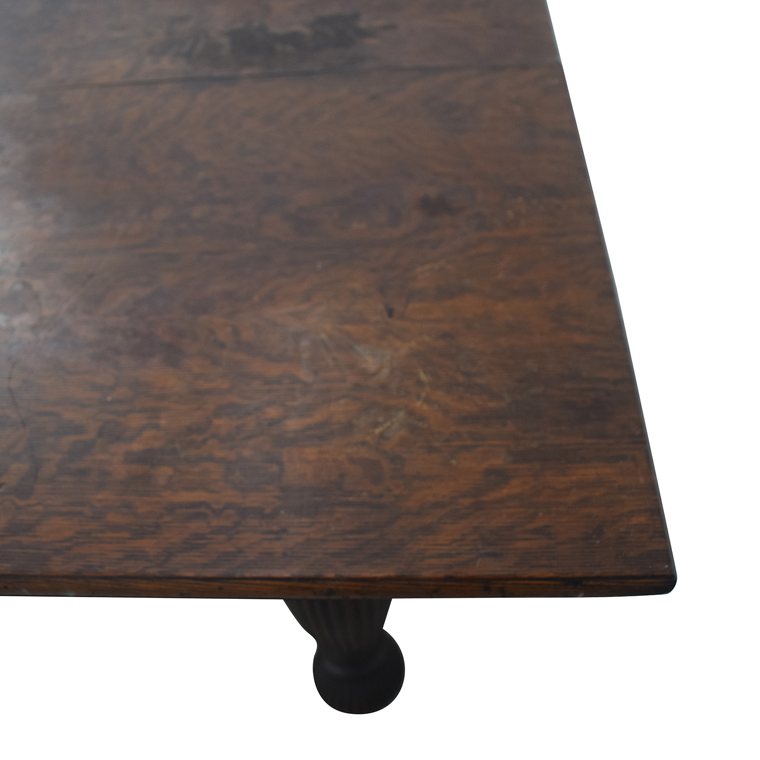 Antique Extendable Dining Table second hand