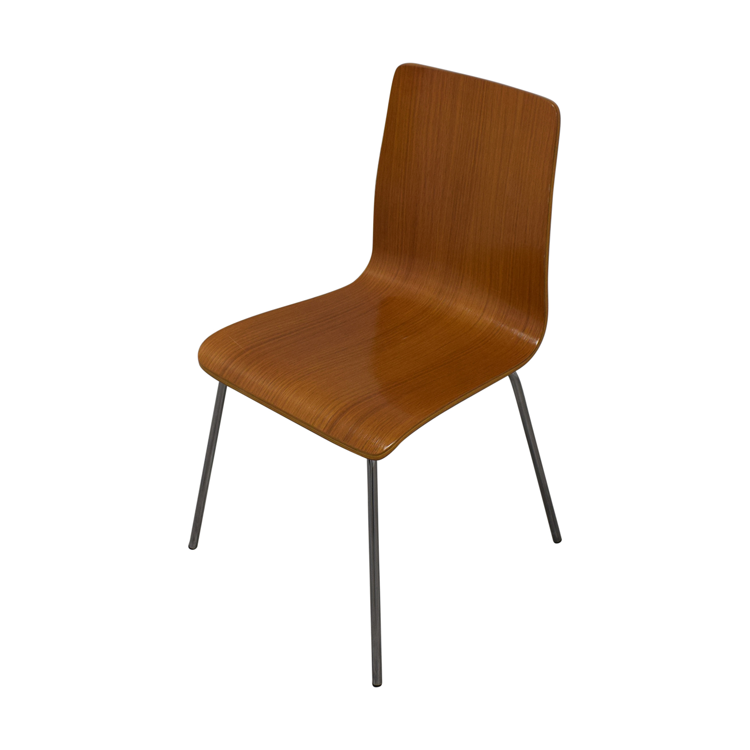 CB2 CB2 Brown Grain Accent Dining Chairs Dining Chairs