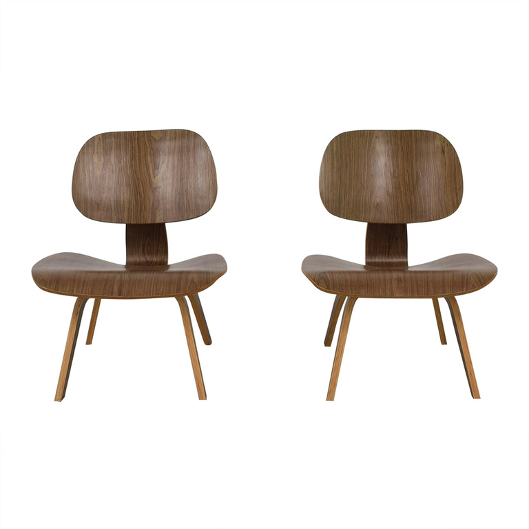 Modway Natural Fathom Plywood Dining Chairs sale