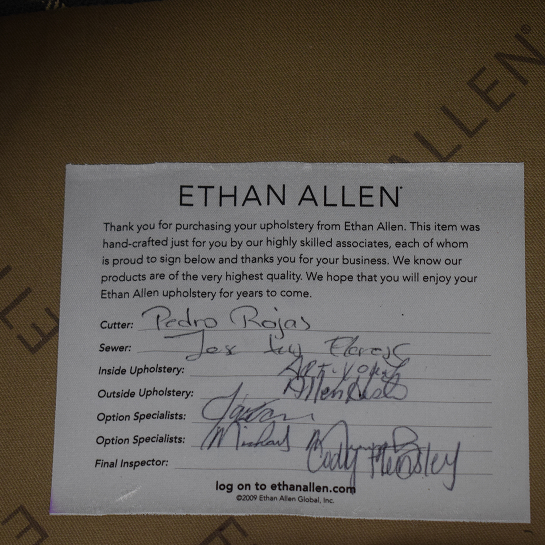 Ethan Allen Ethan Allen Wing Back Chair gray