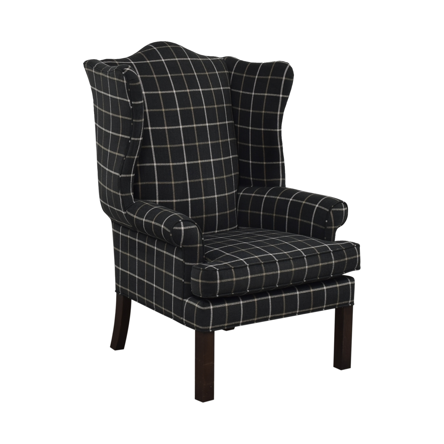 shop Ethan Allen Wing Back Chair Ethan Allen Chairs