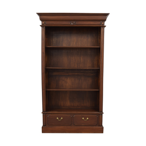 buy Bookcase with Single Bottom Drawer