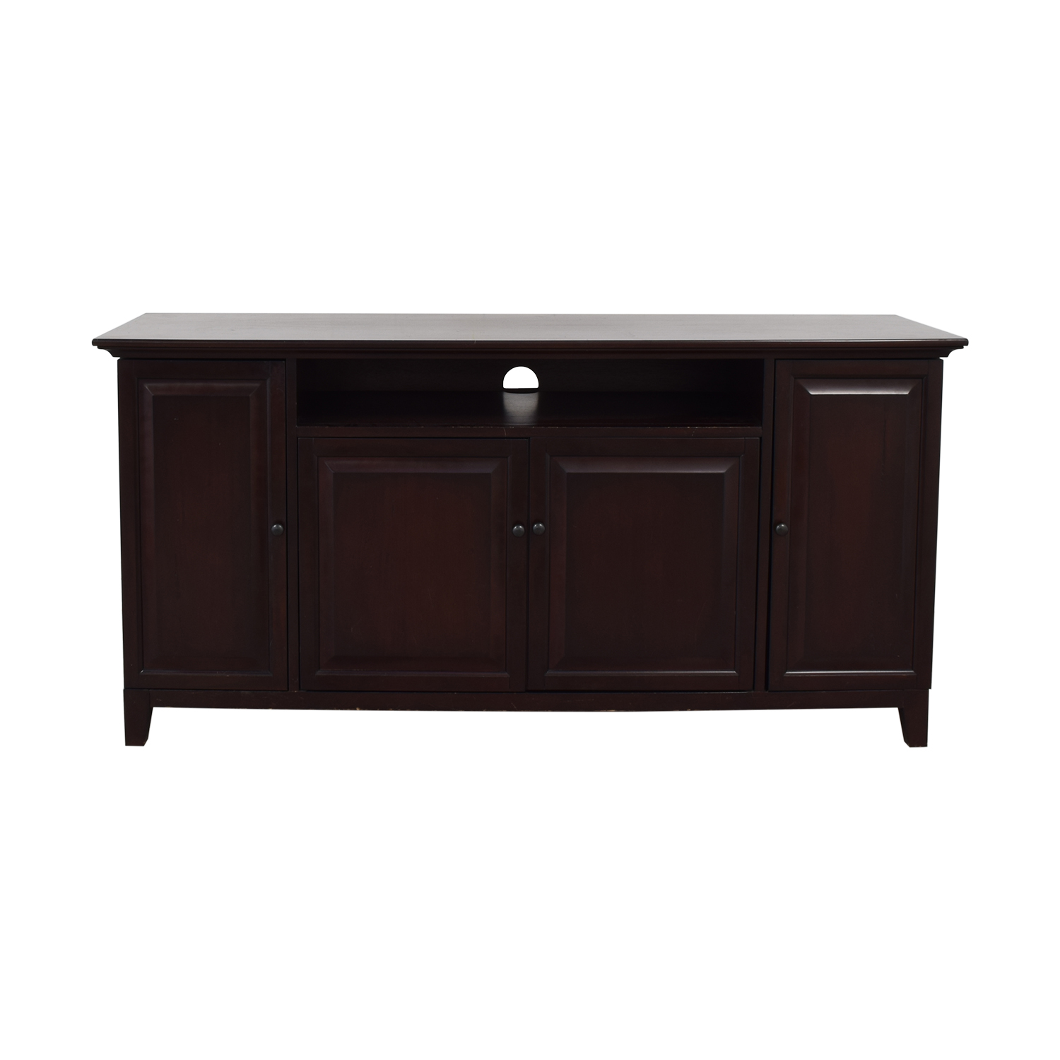 buy Pottery Barn Hudson Media Entertainment Center Pottery Barn Storage