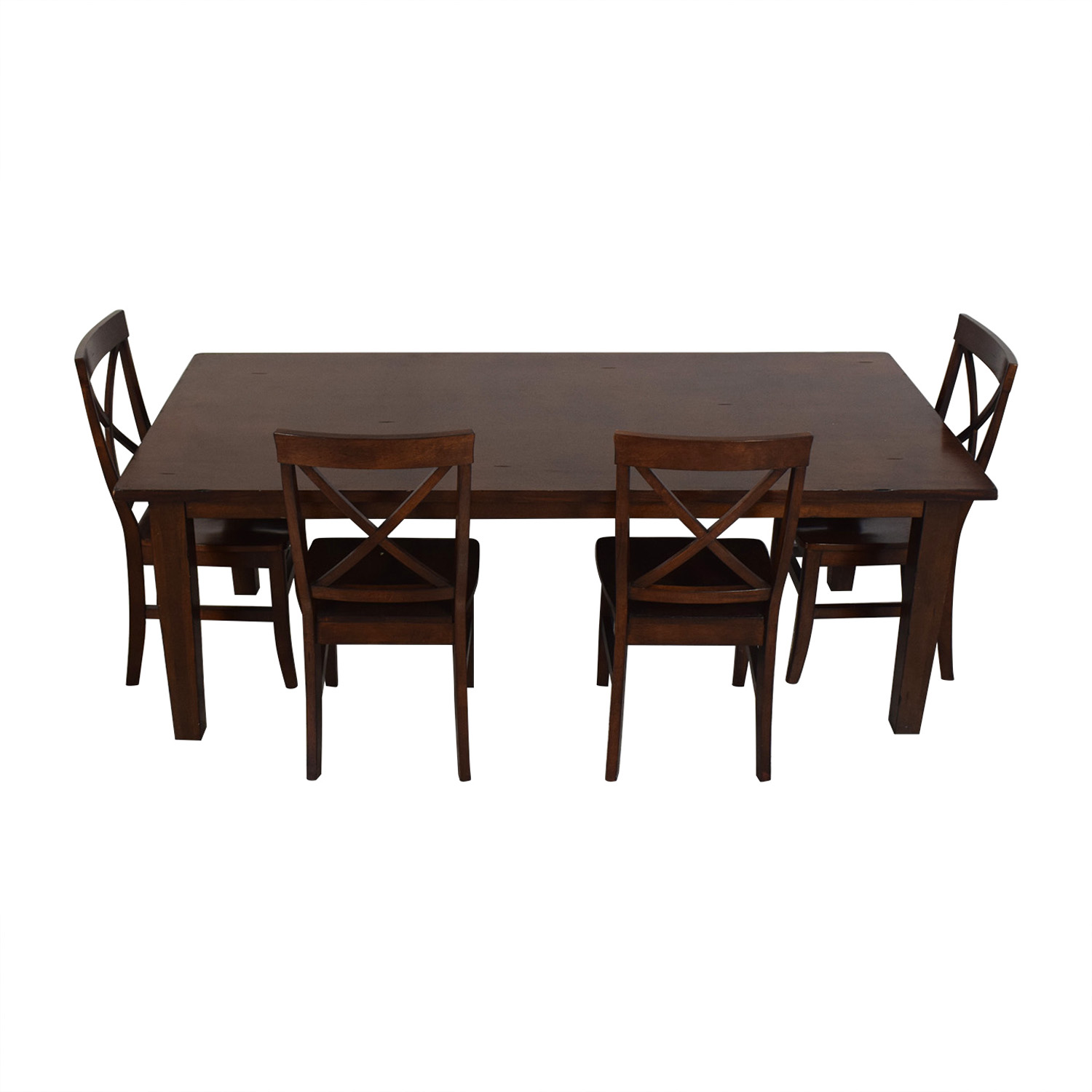 Pier 1 Pier 1 Five-Piece Dining Set second hand