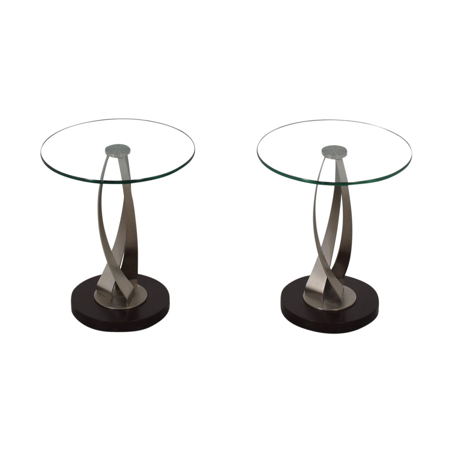 buy Pier 1 Pier 1 Round Glass Side Tables online