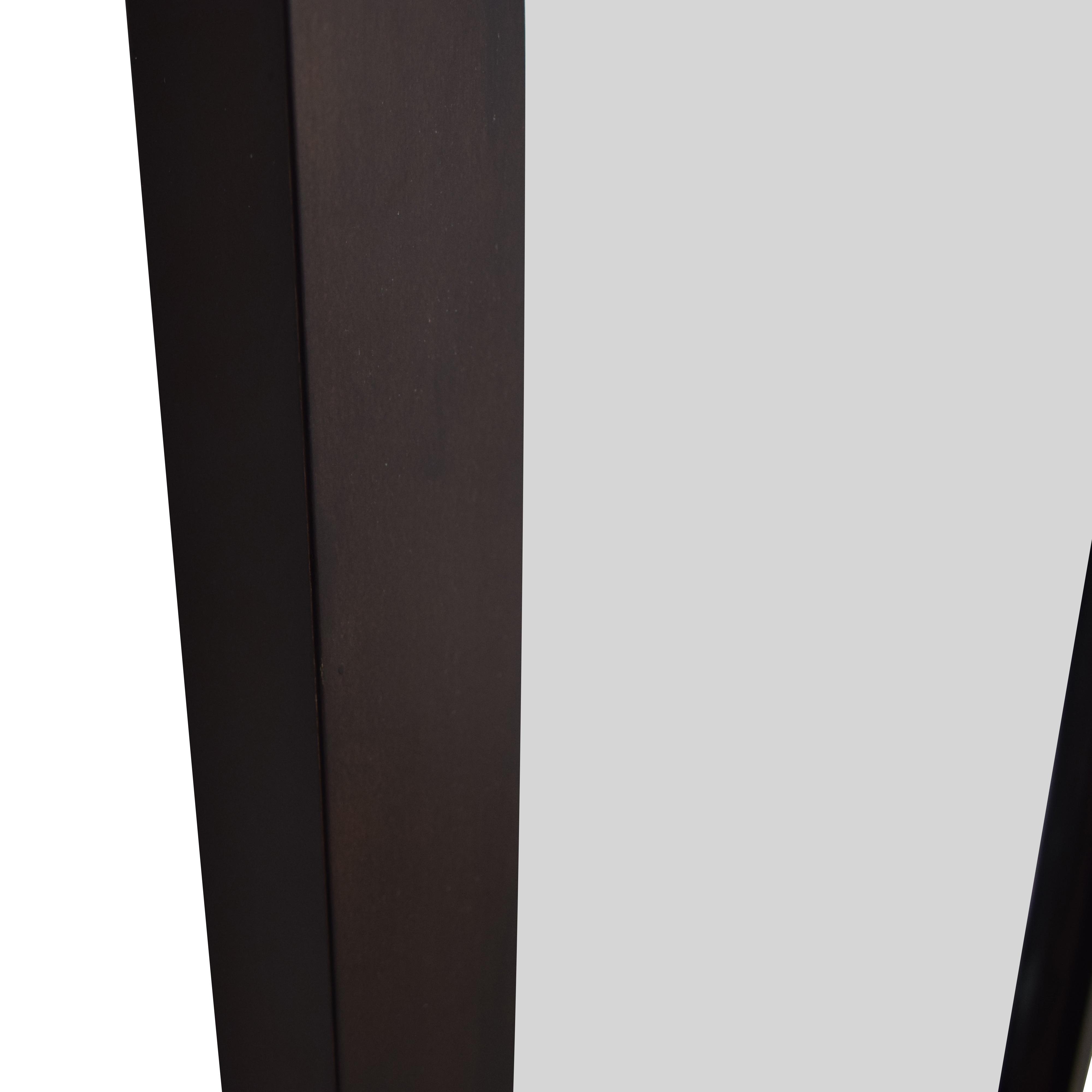 Crate & Barrel Crate & Barrel Wood Framed Floor Mirror discount