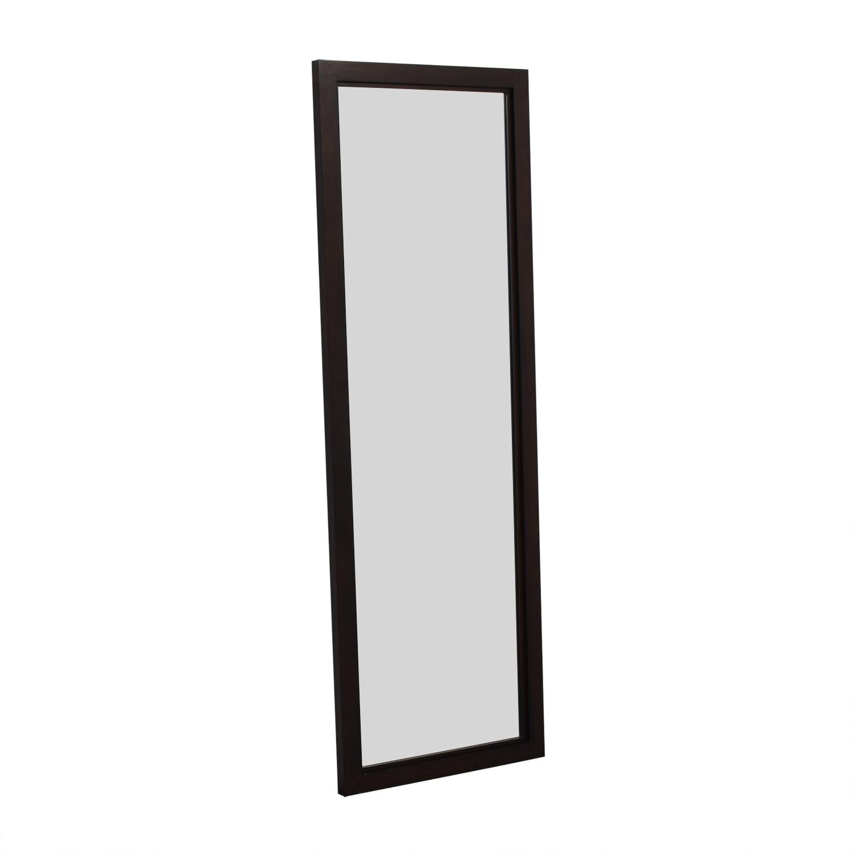 Crate & Barrel Crate & Barrel Wood Framed Floor Mirror Mirrors