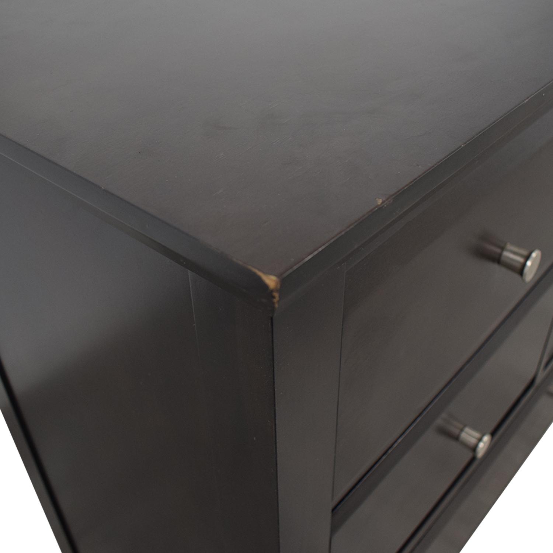 buy Casana Furniture Newport Six Drawer Dresser with Cabinets Casana Furniture