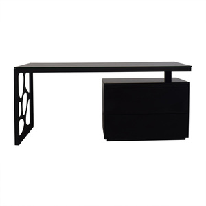 Laporta Issotina Modern Cutout Designed Two-Drawer Desk nj