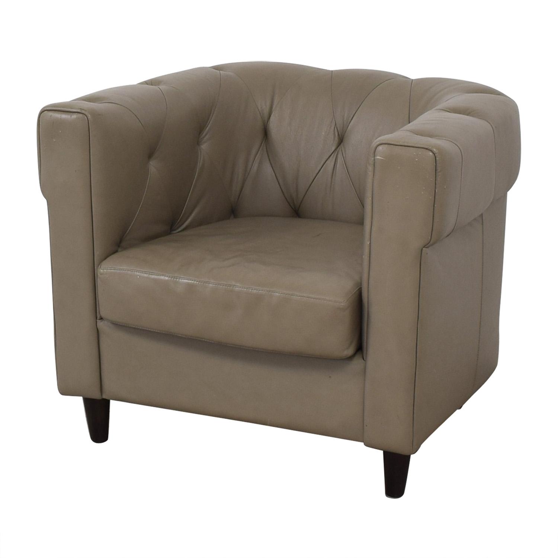 West Elm West Elm Leather Chair nj