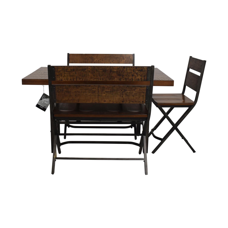 Ashley Furniture Ashley Furniture Kavara Dining Room Table Set dimensions