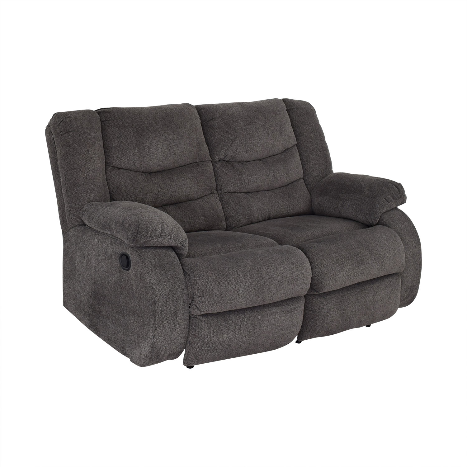 Ashley Furniture Ashley Furniture Gray Reclining Loveseat nyc