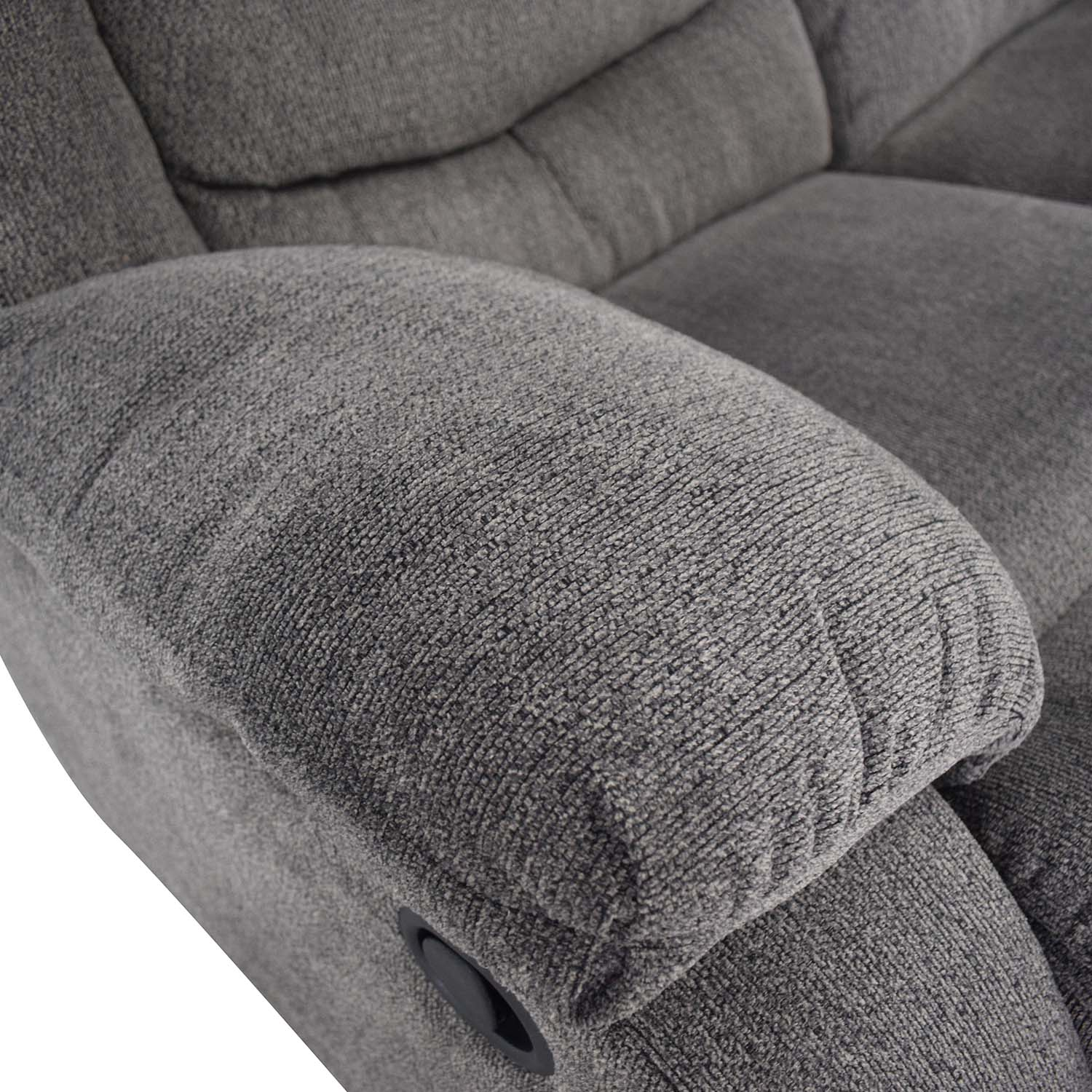 Ashley Furniture Gray Reclining Loveseat / Recliners