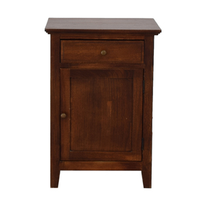 Brown Side Cabinet nj
