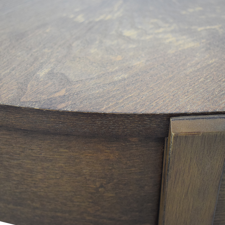 West Elm West Elm Saber Leg Storage Coffee Table discount