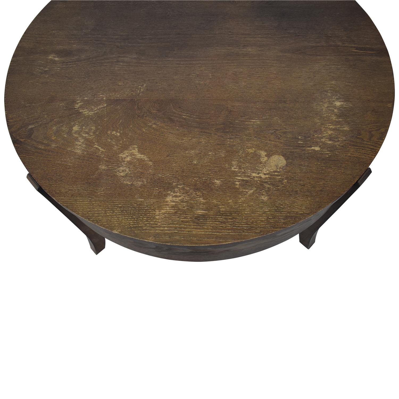 buy West Elm West Elm Saber Leg Storage Coffee Table online