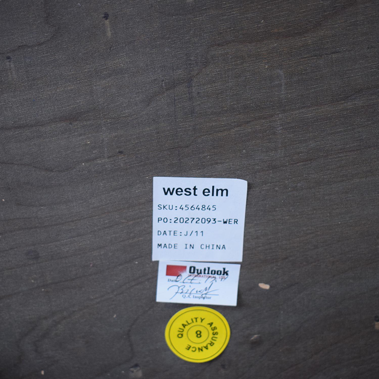West Elm West Elm Saber Leg Storage Coffee Table price
