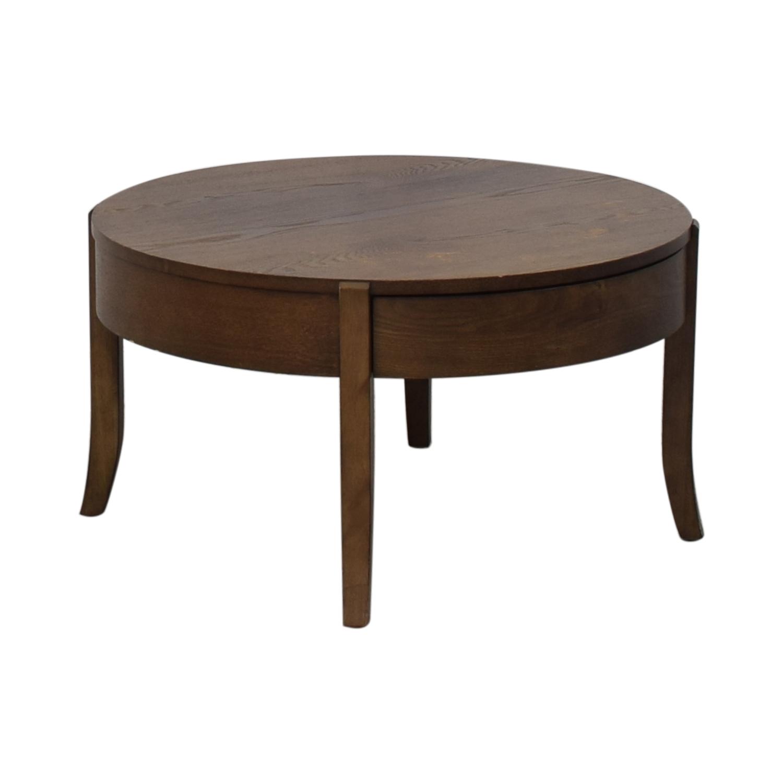 West Elm West Elm Saber Leg Storage Coffee Table used