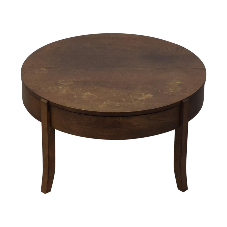West Elm Saber Leg Storage Coffee Table / Tables