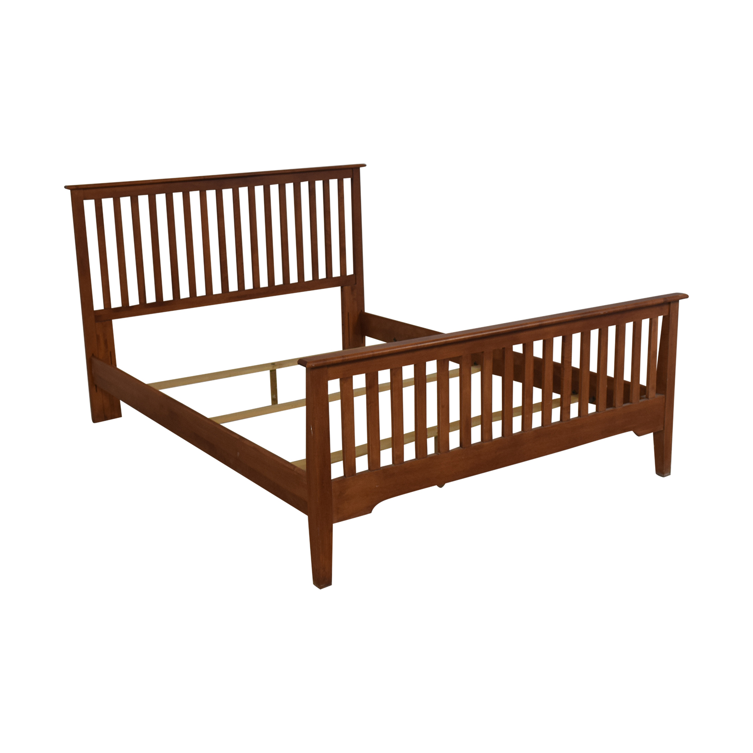 Nadeau Nadeau Mission Style  Full XL to Queen Bed Frame second hand