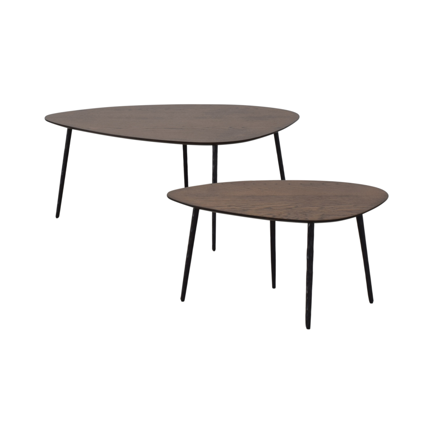 shop West Elm Earl Grey Architect Nesting Tables West Elm Tables