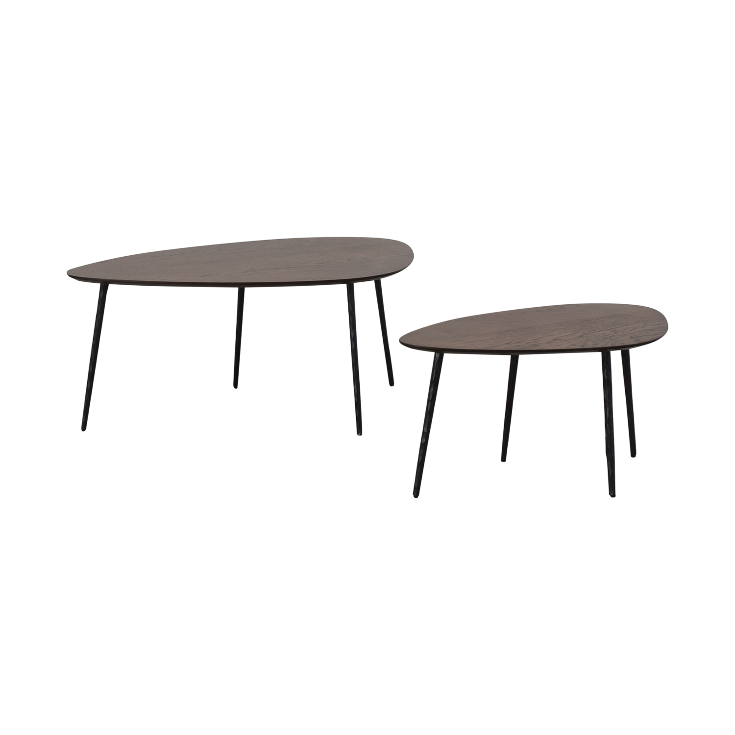 West Elm West Elm Earl Grey Architect Nesting Tables on sale