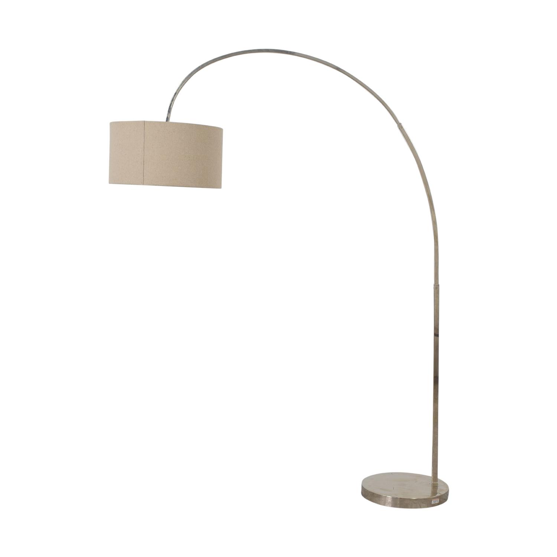 shop West Elm Overarching Floor Lamp West Elm Lamps