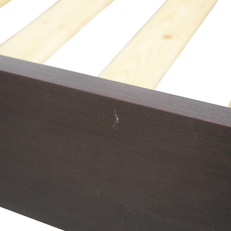BoConcept BoConcept Platform Full Bed Frame dark brown / beech