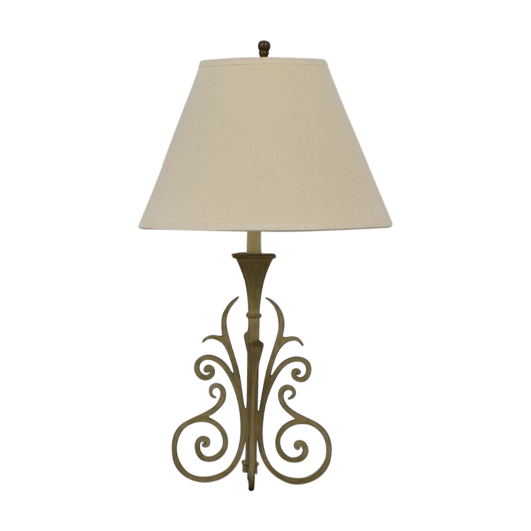 buy Scrolled Base Table Lamp