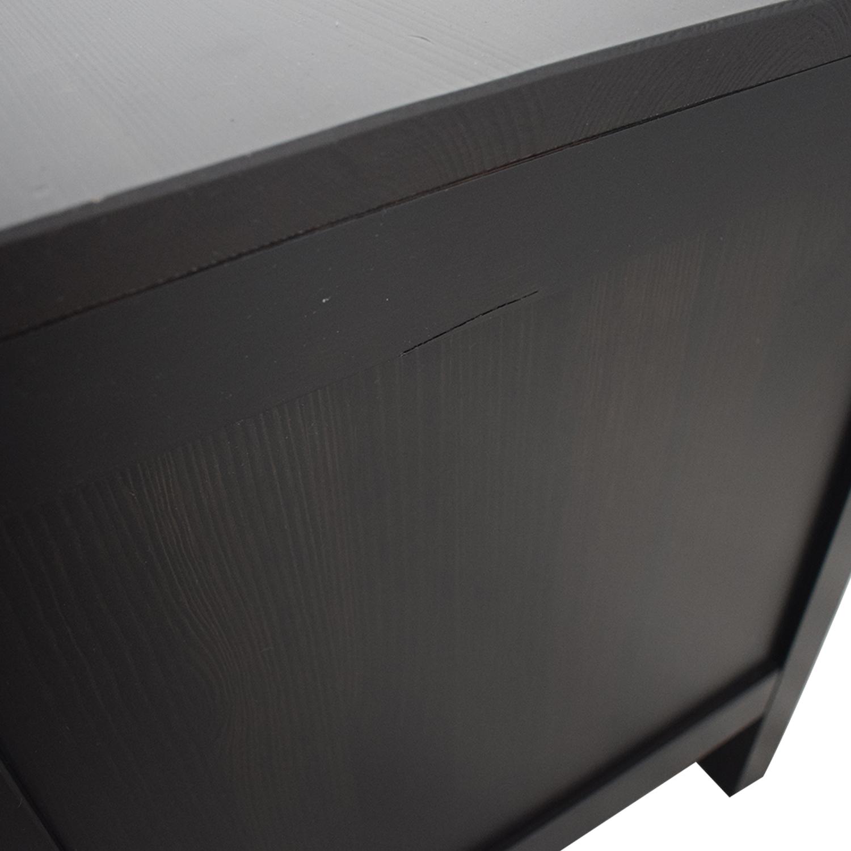 IKEA Hemnes Black TV Stand / Storage