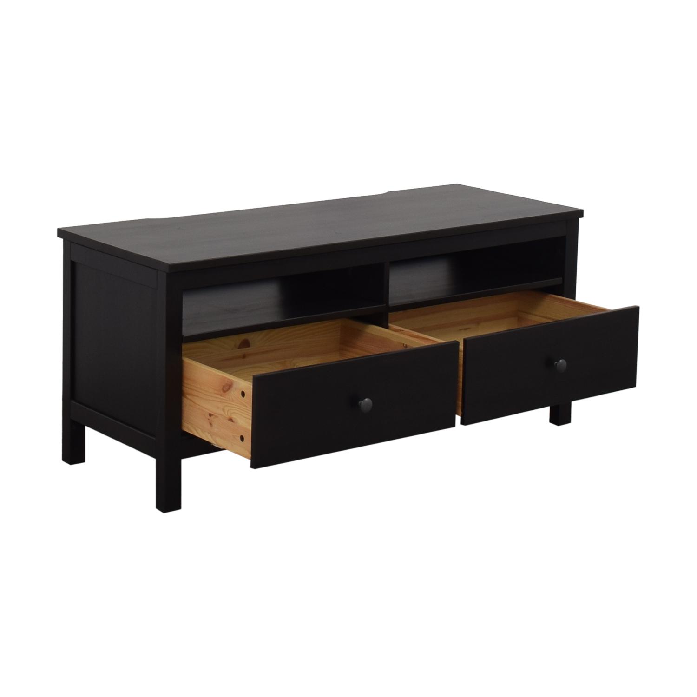 IKEA IKEA Hemnes Black TV Stand nj