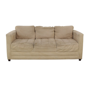 buy Gothic Cabinet Craft Gothic Cabinet Craft Beige Three-Cushion Couch online
