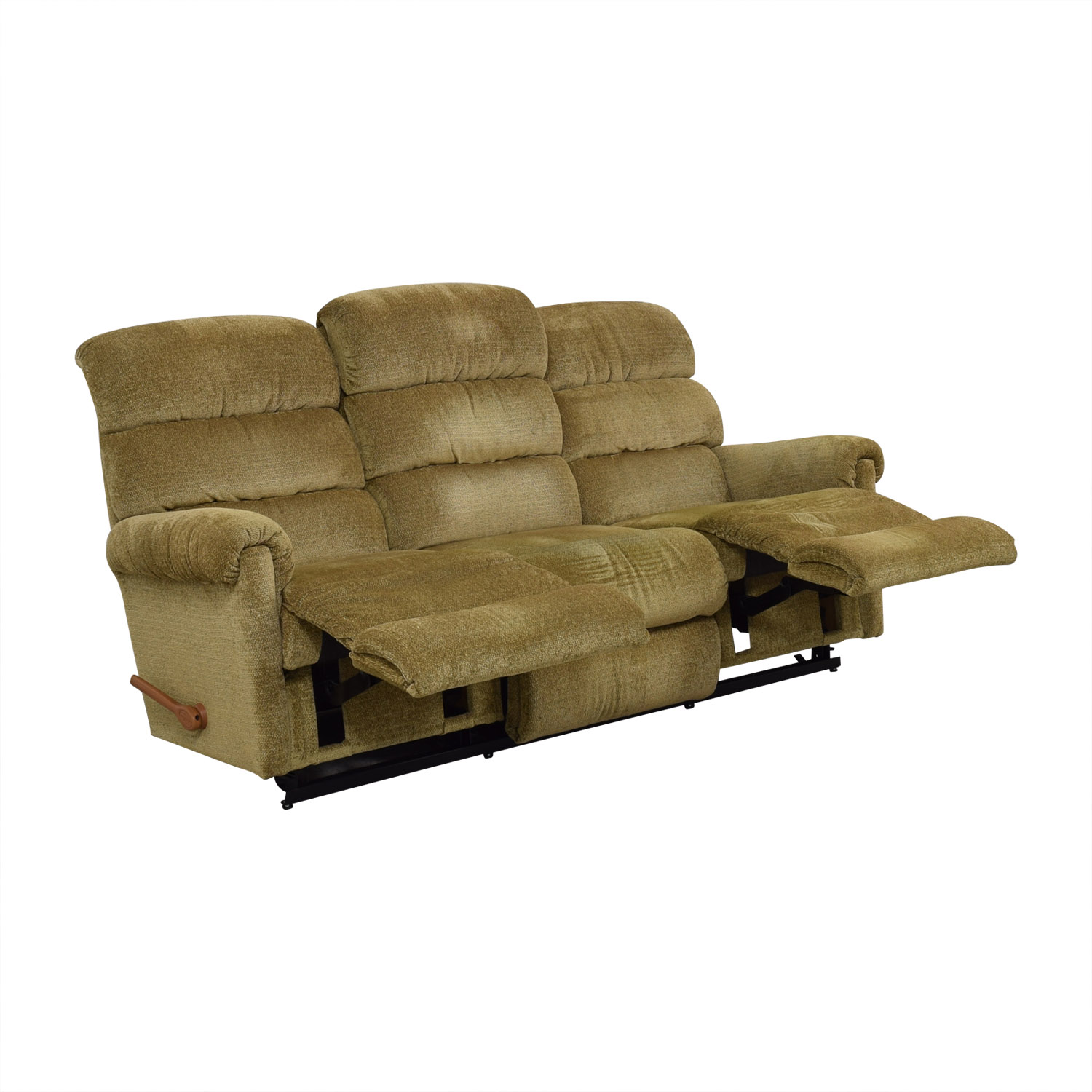 La-Z-Boy Tan Reclining Three-Cushion Sofa / Sofas