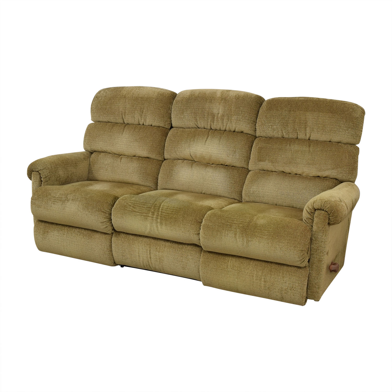 buy La-Z-Boy Tan Reclining Three-Cushion Sofa La-Z-Boy