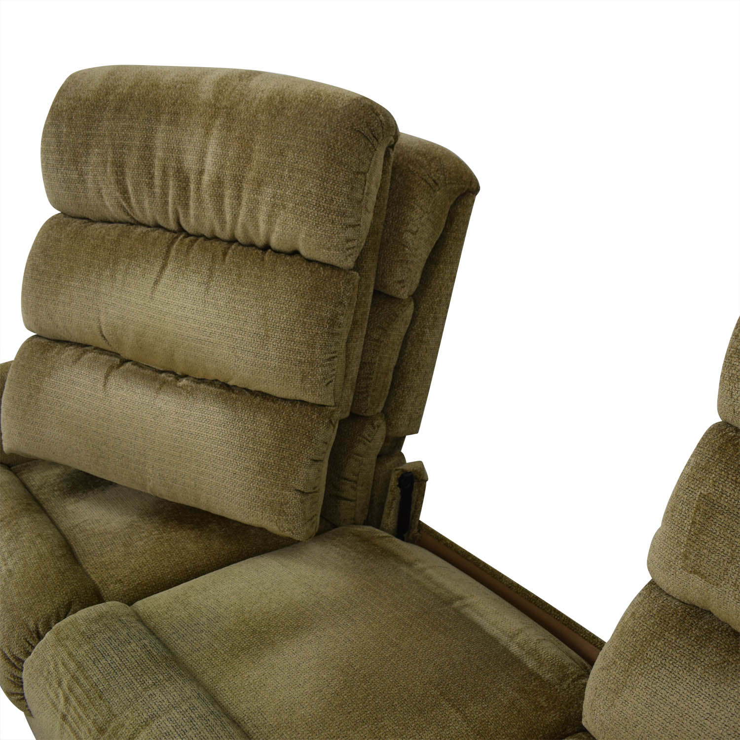 La-Z-Boy La-Z-Boy Tan Reclining Three-Cushion Sofa dimensions