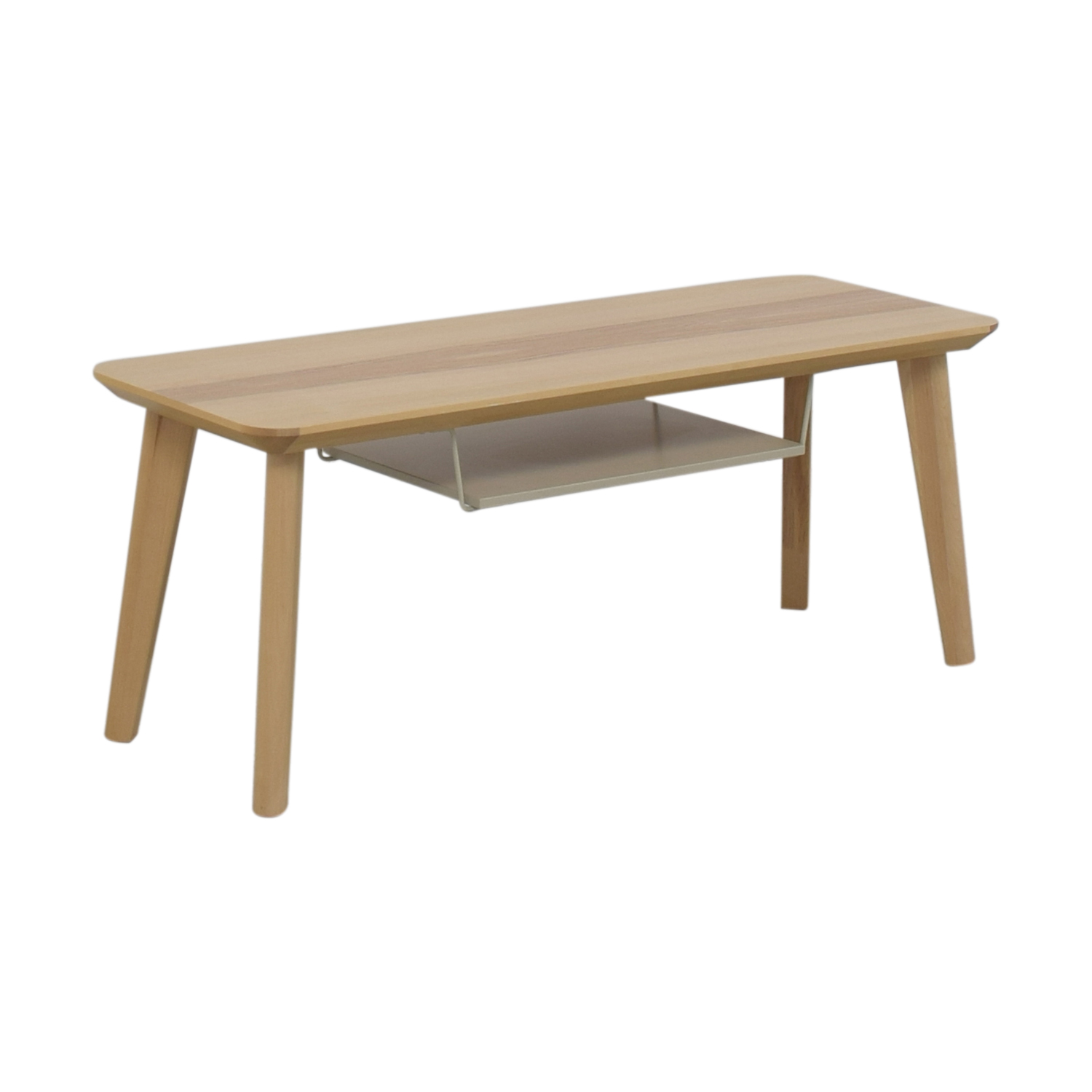 90 Off Ikea Ikea Lisabo Blonde Coffee Table Tables