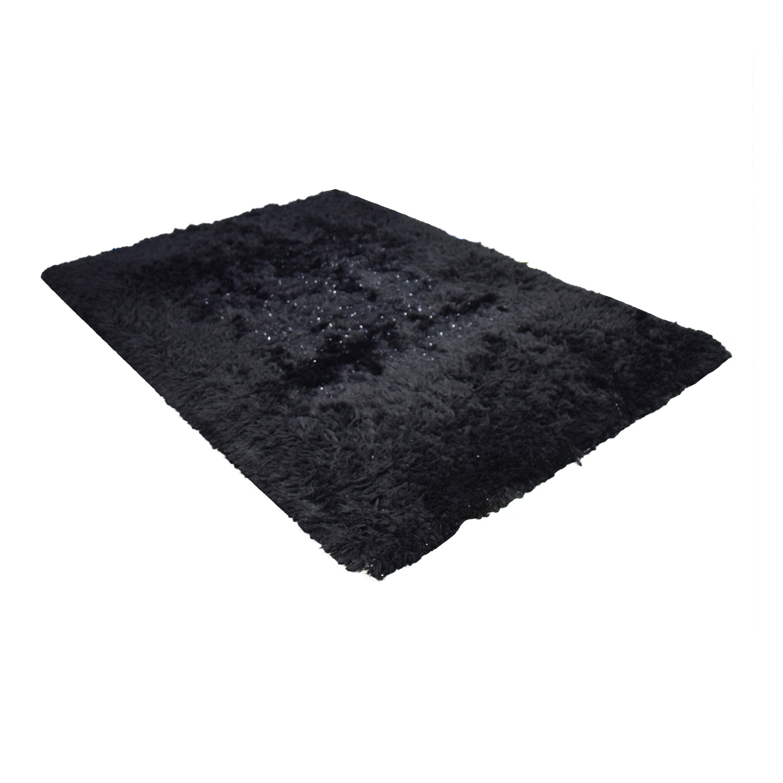 Posh Dark Rug black