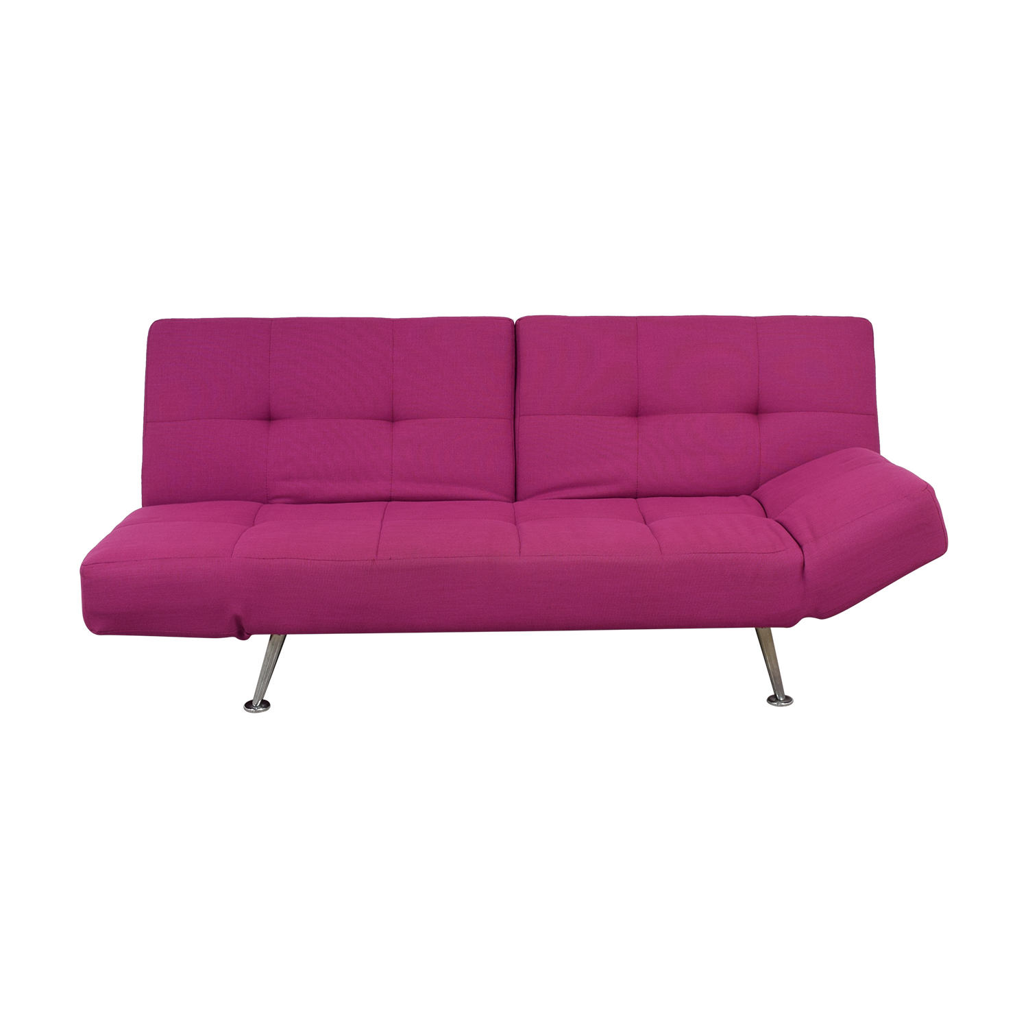 shop Lazzoni Lazzoni Magenta Tufted Sleeper Sofa online