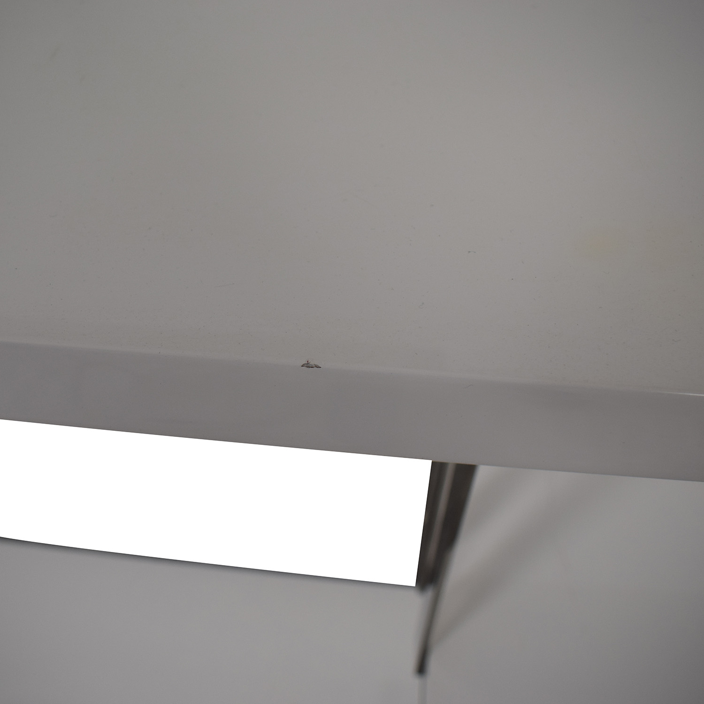 Lazzoni Lazzoni White and Chrome Book Stand nyc