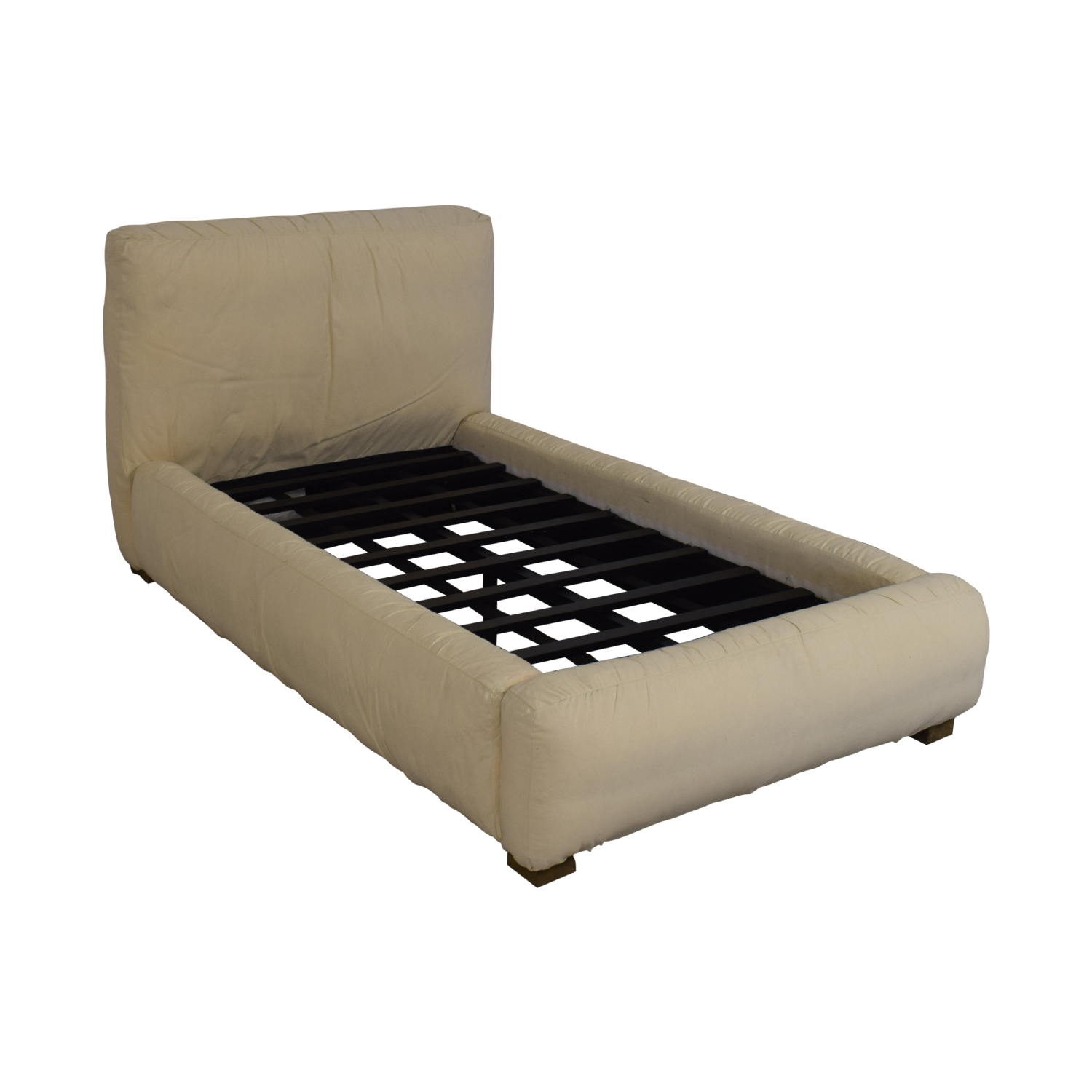 buy Restoration Hardware Restoration Hardware Sona Upholstered Platform Twin Bed online