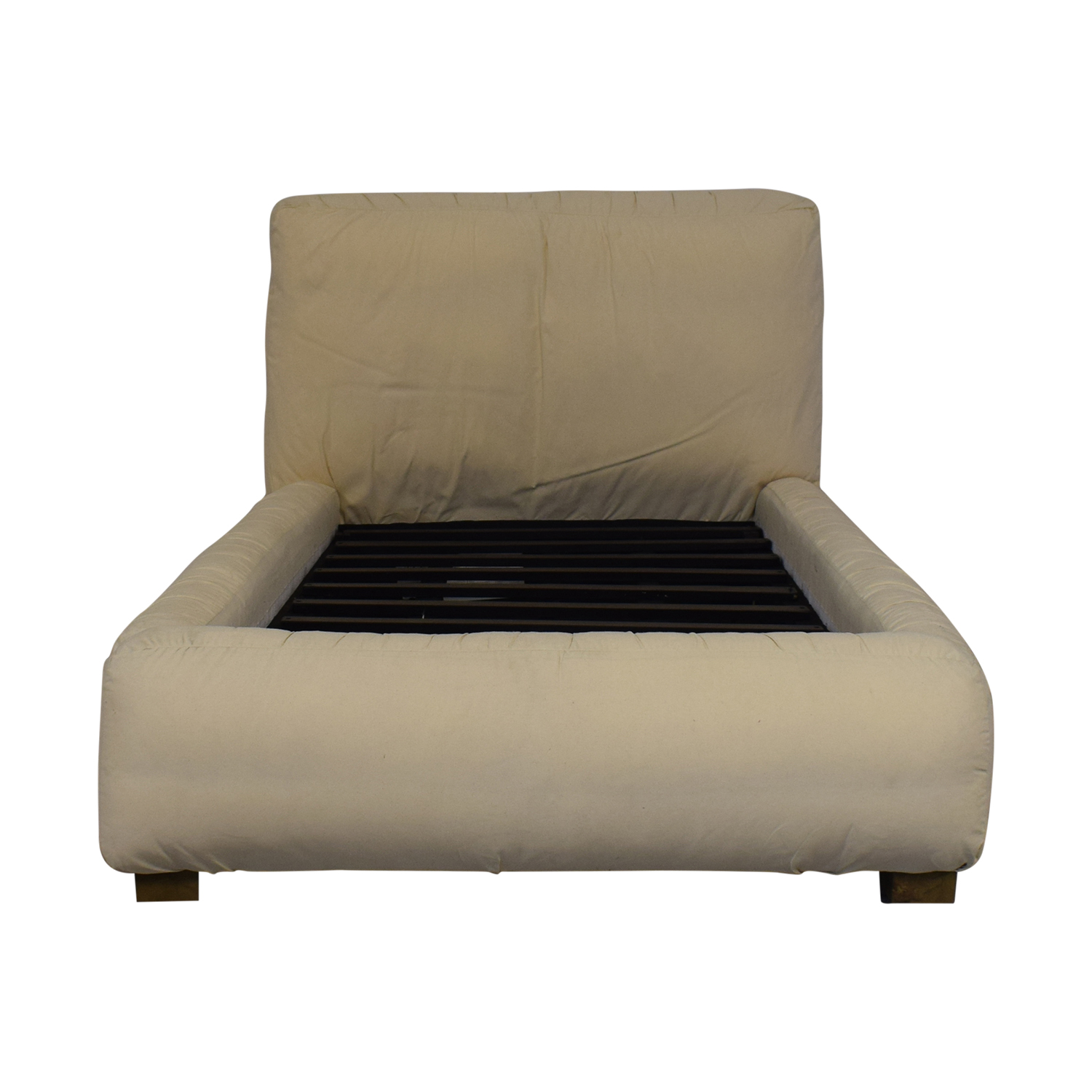 buy Restoration Hardware Sona Upholstered Platform Twin Bed Restoration Hardware Beds